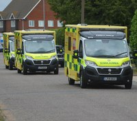 'Disgusting' note left on UK ambulance responding to emergency