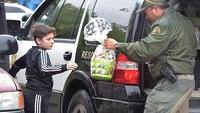 After COVID-19 cancels egg hunt, Calif. deputies bring Easter to kid's front doors