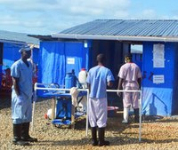 Ebola treatment: Living without the comfort of touch