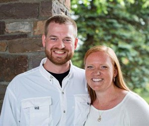 This undated photo provided by Samaritan's Purse shows Dr. Kent Brantly and his wife, Amber. A spokesperson for the Samaritan's Purse aid organization said that Dr. Kent Brantly, one of the two American aid workers infected with the Ebola virus in Africa, would be released Thursday, Aug. 21, 2014. (AP Photo/Samaritan's Purse)