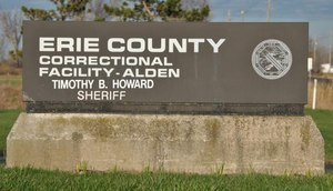 The sheriff's SWAT team was activated after inmates took over a housing unit at Erie County Correctional Facility on Monday night.