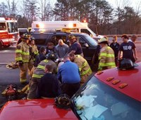 Paramedic instructor on students' heroic efforts to help crash victim