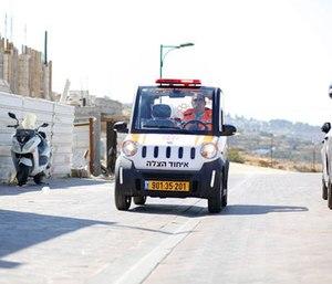 "The newest vehicle added to United Hatzalah's fleet is the ""Mini-Lance."