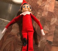 Firefighters use burnt 'Elf on the Shelf' as example to teach fire safety
