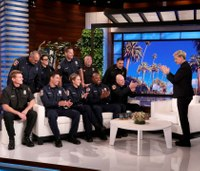 Video: Ellen DeGeneres meets firefighters who saved her Calif. home