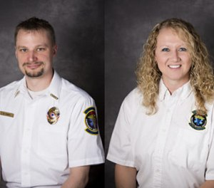 Boyceville EMS Chief Matt Feeney and Capt. Tessa Feeney were placed on administrative leave after an investigation into credit card statement disparities. (Photo/Boyceville Community Ambulance District)