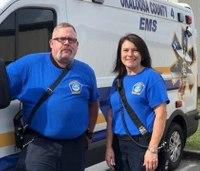 EMS crew rebuilds patient's wheelchair ramp