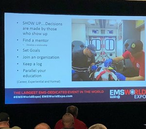 The EMS World Expo hosted a panel discussion with the National Association of Emergency Medical Technicians Board of Directors to spark conversation about how to make tough career decisions. (Courtesy photo)
