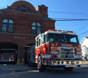 New Bedford's Engine 7 was blacked out on the day of a fatal fire within its coverage area, prompting the city's fire union to renew criticisms of the department's blackout policy. Fire Chief Paul Coderre Jr. said response times to the fire were within national standards. (Photo/NBFD Engine Co. 7 Facebook)