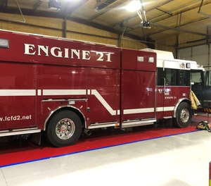 Laramie County Fire District #2 combined the capabilities of rescue trucks into its engines, allowing crews to arrive on scene of a vehicle crash with the tools necessary for both a fire event and an extrication.
