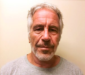 This March 28, 2017, file photo, provided by the New York State Sex Offender Registry shows Jeffrey Epstein. (New York State Sex Offender Registry via AP, File)