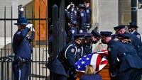 Boulder police officer laid to rest after grocery store massacre