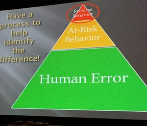 Every agency needs a process to differentiate human error, at-risk behavior and reckless behavior. (Photo by Greg Friese)