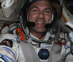 Dutch astronaut André Kuipers, who is at the International Space Station, was dialing a number via the Johnson Space Center switchboard when he missed a number and called 911.