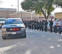 Fallen Texas first responders honored at procession