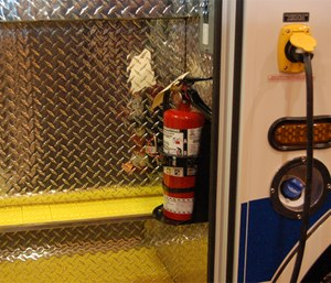 In order to successfully extinguish a fire, you must use the correct extinguisher. (Photo/Greg Friese)