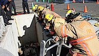 Extrication principles from an elevated incident scene