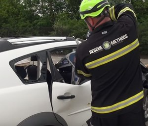 Modern vehicle technology keeps evolving and is always challenging extrication tools and techniques. (Photo/YouTube)