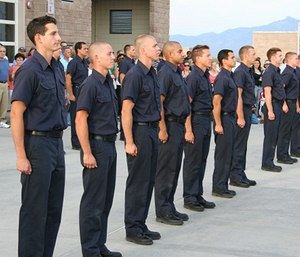 You must be in excellent physical and mental condition to be able to pass the rigorous training of the fire academy.