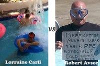 Cold Water Challenge Face-off: Robert Avsec vs. Lorraine Carli