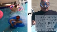 Cold Water Challenge Face-off: Robert Avsec vs. Lorraine Carli