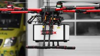 Falck plans to have paramedics flying in drones by 2025