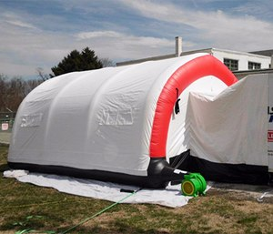 The Durhamville FD Fast Shelter offers relief to first responders. (Photo/Eric Wilcox)