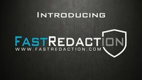 Spotlight: FastRedaction is an entirely new approach to video redaction