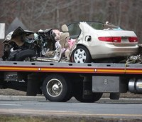 3 killed, 2 seriously injured in head-on crash
