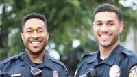 A family affair: Father-son duo make history after graduating from the police academy together