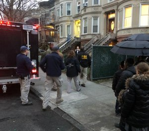 The FBI raids Baruch Feldheim's home after an investigation found he was hoarding PPE and selling it at outrageous markups. (Photo/TNS)
