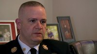 Patient revived by Narcan attacks NY fire chief