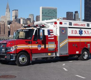 Fire fatalities in New York City fell by 25% last year, but the number of medical emergencies rose to 1,531,870, the second-highest total in FDNY history.