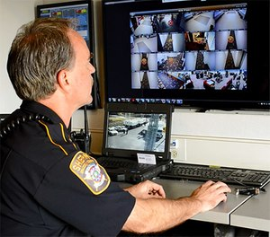 While serving as lieutenant at the Brazos County Sheriff's Office, Thomas Randall played a key role experimenting and testing digital video technologies for the department. Today, law enforcement and other first responders rely on countless video technologies to augment their day-to-day operations. (Photo by Kyle S. Richardson, FirstNet Senior Public Safety Liaison)