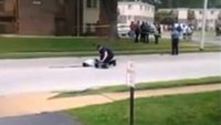Suspect who shot at police at Ferguson rally critically injured