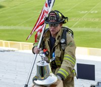 Never Forget: 9/11 Memorial Stair Climb at Lambeau Field