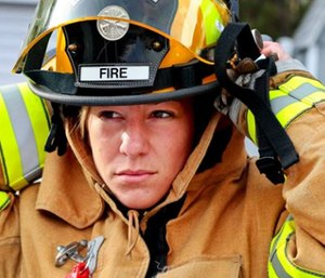 Either we are not putting enough effort into recruitment and retention of women in the fire service, or there are other factors at play that are undermining these efforts. (Photo/U.S. Department of Defense)
