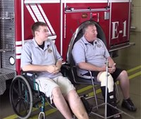 2 firefighters hurt in house explosion recovering