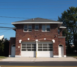 The city of Norfolk's original Fire Station No. 12, built in 1923, has been designated as a state landmark due to its historical significance. (Photo/Virginia Department of Historic Resources)