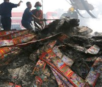 Explosion, inferno at Indonesia fireworks factory kills 47