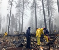 Search for the missing continues as Northern Calif. wildfire is contained