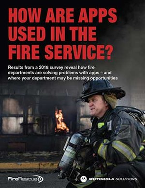 Learn how apps are used in the fire service