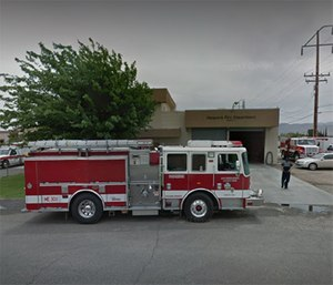 Officials said a woman showed up at a San Bernardino County Fire Department station and gave firefighters possession of the twins under California's Safe-Haven Law. (Photo/Google Maps)
