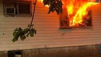 Firefighter-EMT learns his own house is on fire while on duty