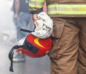 Firefighters, paramedics and EMTs, though accustomed to death, need to process grief when losing someone close to them.