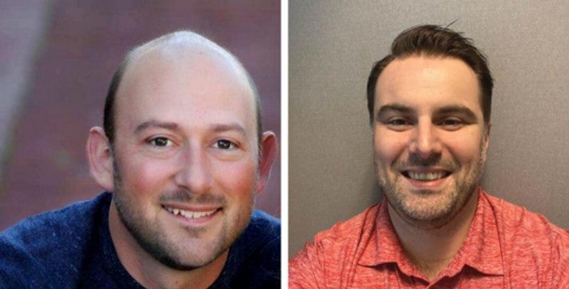 Product managers Matt Colatruglio and Matt Shurtz. (Courtesy photo)
