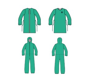 Ohio-based PPE manufacturer Fire-Dex has announced it is starting production of AAMI Level 3-compliant reusable isolation gowns and coveralls in response to the COVID-19 pandemic. (Photo/Fire-Dex)