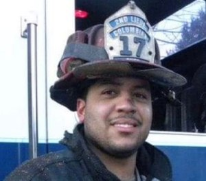 Firefighter Jared Lloyd died while trying to get to a trapped resident. A member of Spring Valley Fire Department Engine 17, he leaves behind two young sons.