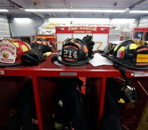 Firefighters don't take kindly to people just taking their helmet off the rack and putting it on; when a firefighter lets a civilian try on their helmet, it is really an act of kindness.