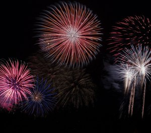 Viewing fireworks displays can be a fun summer activity, but handling fireworks comes with the risk of starting fires or injuring oneself or others.